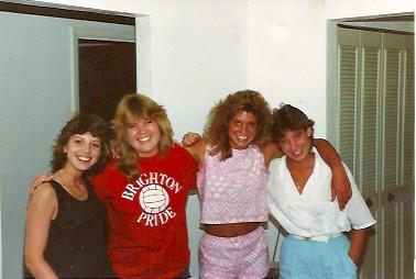 ERAU roomies pic 1986
